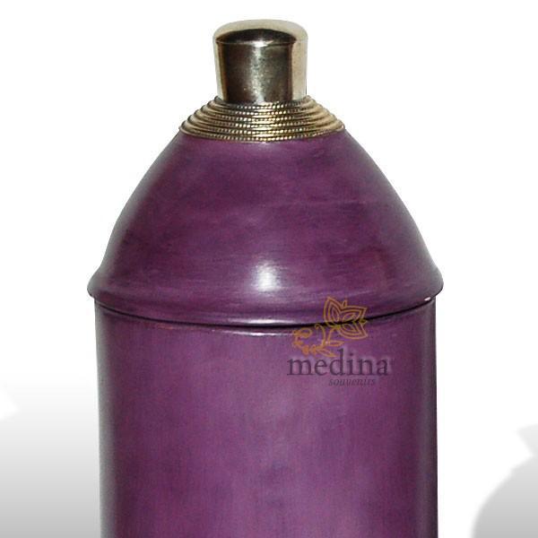 Boite tadelakt kasbah violet