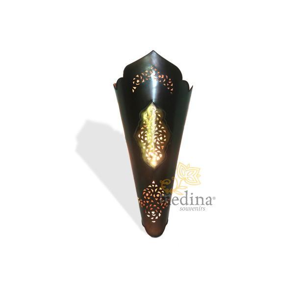 Applique métal et bronze