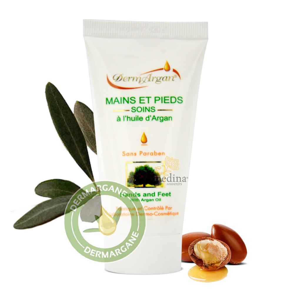 Crème Mains et Pieds a l'huile d'argan Bio