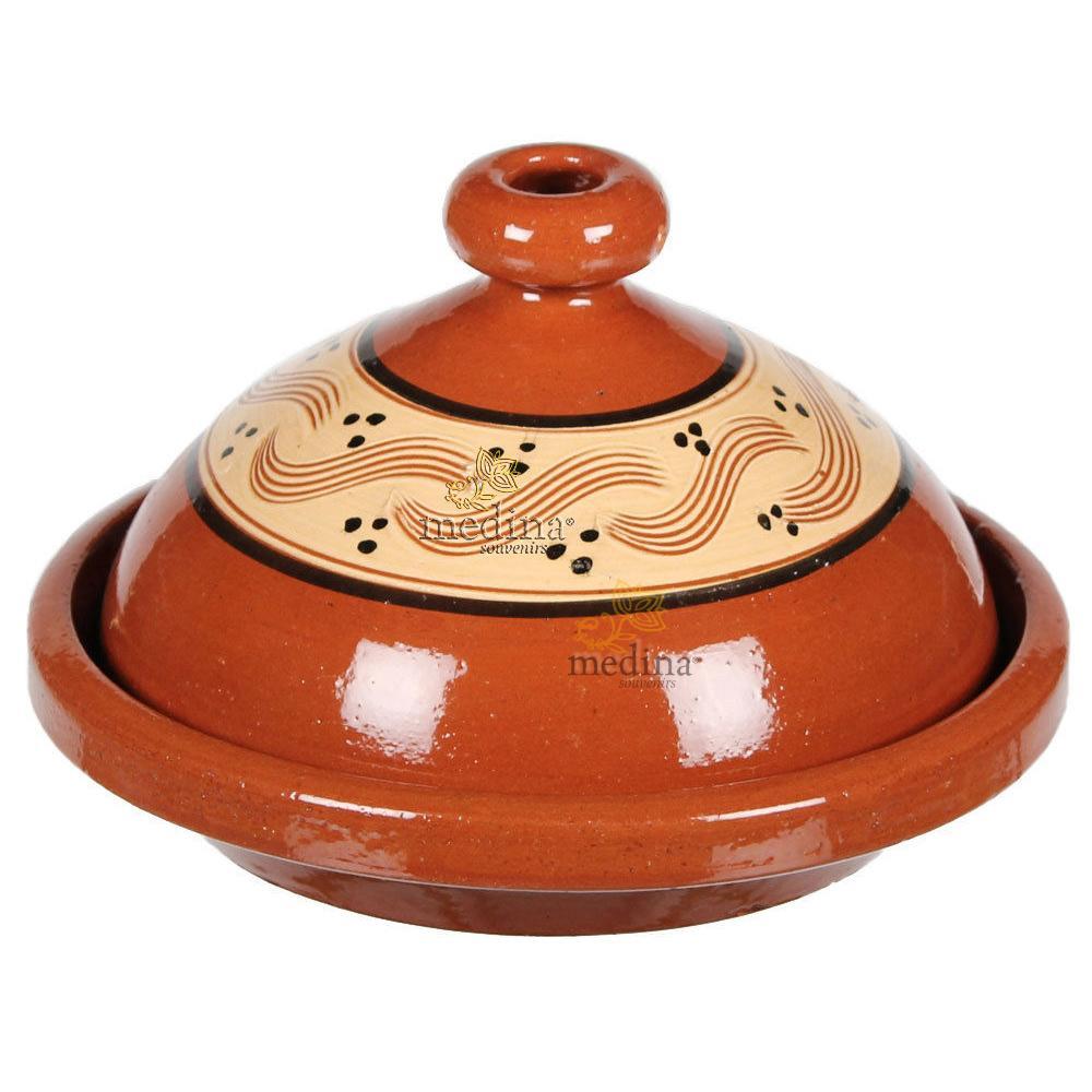 Tajine marocain beldi large, tagine artisanal