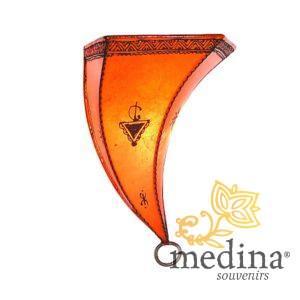 Applique fer forgé Amira orange