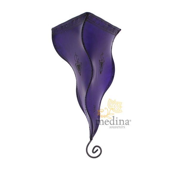 Applique fer forgé Shemsia violet 2