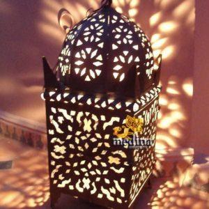 Lanterne orientale en fer forgé palemeraie