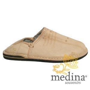 Babouche Touareg homme et femme couleur naturel babouches confortables et solides chaussons robustes pour un usage quotidien