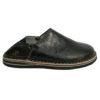 Babouche Touareg homme et femme couleur noir babouches confortables et solides chaussons robustes pour un usage quotididien