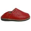 Babouche Touareg homme et femme couleur rouge babouches confortables et solides chaussons robustes pour un usage quotidien