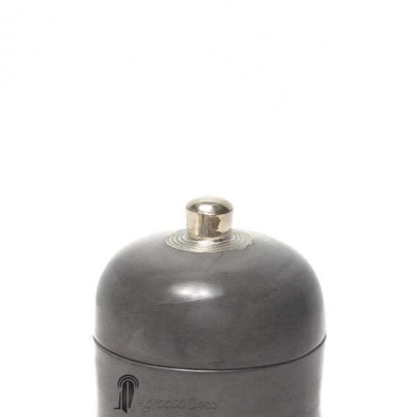 Boite ronde maissa gris